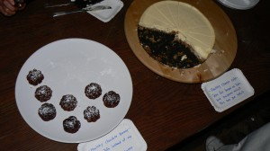 Tofu Cheesecake and Brownies by ?Kitchen